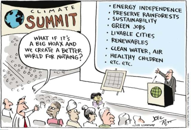 """""""Et si le changement climatique était un hoax et qu'on bâtissait un monde meilleur pour rien ? """""""